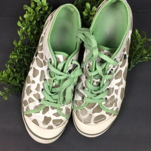 Simple Eco Sneakers Giraffe Print Sneakers Sz 8.5